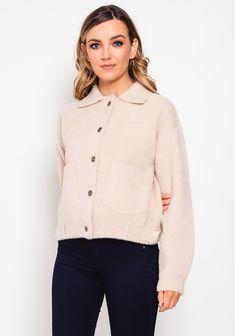 Knit Jacket, Neutral Tones, Beige, Trends, Knitting, Jackets, Tops, Women, Fashion