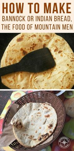 How To Make Bannock Or Indian Bread, The Food Of Mountain Men - To put it in a few words, bannock is a round, heavy and unleavened bread. Most mountain men call it a flat cake. Bannock Bread, Bannock Recipe, Unleavened Bread Recipe, How To Make Bannock, Flat Cakes, Good Food, Yummy Food, Indian Food Recipes, Ethnic Recipes