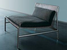 Poltroncina in rete metallica HI-TECH by Living Divani   design Piero Lissoni