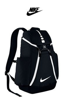 Nike Hoops Elite Max Air Team Basketball Backpack Black/White Size One Size Nike Basketball Bag, Basketball Jersey, Basketball Drills, Basketball Outfits, Volleyball Bags, Nike Sports Bag, Volleyball Equipment, Pickup Basketball, Basketball Playoffs