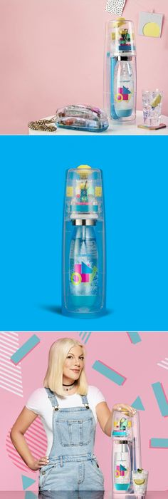 SodaStream Releases 90s Inspired Machine And It's Retro Fly | Dieline