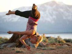 Yogaslackers (Yoga e slackline)