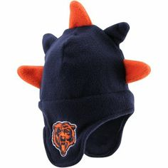'47 Brand Chicago Bears Toddler Spike-O-Saurus Knit Hat - Navy Blue