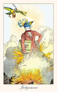 The Fantastic Menagerie Tarot - Judgement