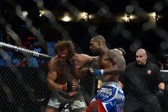 Jimi Manuwa estreou no Ultimate da melhor forma possível. Encarando o norte-americano Kyle Kingsbury, no UFC on Fuel TV 5, o inglês surrou o adversário durante os dez minutos da soma dos dois rounds d