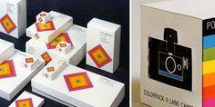 1958 Polaroid visual branding by Paul Giambarda.    Looks like the precursor to early Apple.