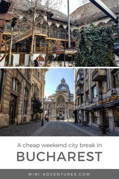 Looking for a European weekend city break on a budget? Try Bucharest - it has gorgeous architecture, fun street art and cheap eats at great restaurants! European Travel Tips, Europe Travel Guide, Europe Destinations, Budget Travel, Travelling Europe, Travel List, Traveling, Cool Places To Visit, Places To Travel