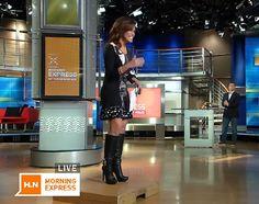 Robin Meade @ Appreciation of Booted Newswomen blog, Nov 2014