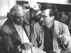 Samuel Fuller with Roger Ebert