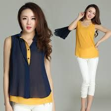 Blouses for women – Lady Dress Designs Blouse Dress, I Dress, Casual Clothing Stores, Clothing Catalogs, Clothing Sets, Make Your Own Clothes, Western Dresses, Outdoor Outfit, Blouse Styles