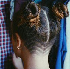 95 Bold Shaved Hairstyles For Women Shaved Hair Designs Bold hairstyles Shaved WOMEN Shaved Undercut, Undercut Long Hair, Shaved Nape, Undercut Girl, Undercut Pixie, Bob With Undercut, Undercut Ponytail, Bun Updo, Bun Hair