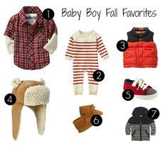 Boy Fall Favorites | Baby Fashion | Gap | Baby and Toddler Fashion