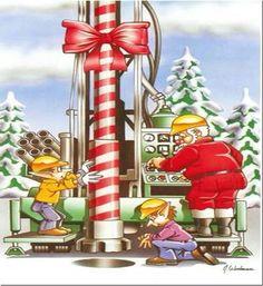 Ho...ho....ho Winter Wonderland Christmas, Christmas Door, Merry Christmas, Christmas Ornaments, Oilfield Trash, Oilfield Wife, Holiday Fun, Holiday Decor, Oil Industry