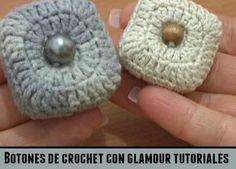 Botones disys 3 tutoriales crochet
