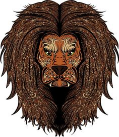 Patterned Lion Head Home Decal Vinyl Sticker X * Details can be found by clicking on the image. (This is an affiliate link and I receive a commission for the sales) Window Stickers, Decals, Lion Sculpture, Statue, Films, Image, Link, Art, Movies