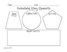 Graphic Organizer Story Elements