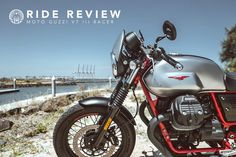 Ride Review - Moto Guzzi V7 III Racer | Return of the Cafe Racers