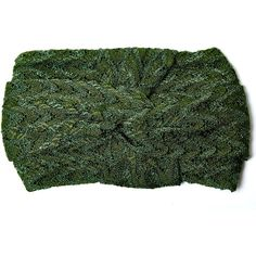 Missoni Green Plain Knit Zigzag Headband ($240) ❤ liked on Polyvore featuring accessories, hair accessories, woven headbands, knotted braid headband, braided headband, hair bands accessories and knotted headwrap