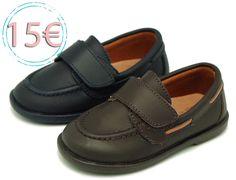 a794902a3e2d9 Tienda online de calzado infantil Okaaspain. Mocasín de piel lavable con  velcro. Calidad y
