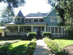 Ottis Green House, Asheville, NC, Richard Sharp Smith, architect