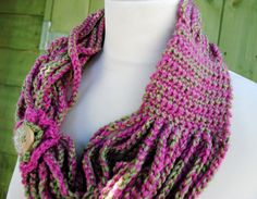 Learn+to+Crochet+a+Scarf | BEGINNING CROCHET SCARF - Crochet — Learn How to Crochet