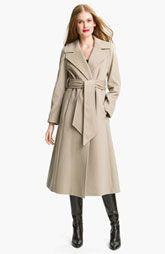 George Simonton Couture Long Wrap Coat