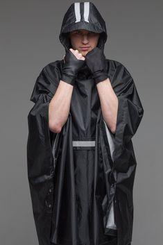Hooded raincoat men black rain slicker rain poncho cape | Etsy Poncho Raincoat, Black Raincoat, Rain Poncho, Hooded Poncho, Jedi Outfit, Badass Outfit, Rain Slicker, Urban People, Black Poncho