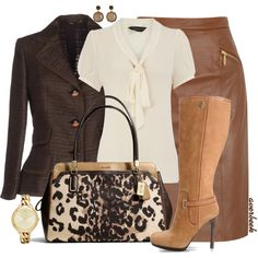 """Coach Animal Print"" by averbeek on Polyvore"