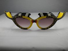 Rare Vintage Louis Feraud Women's Caraibe Kissing Fish Sunglasses Collectible #LouisFeraud #Designer