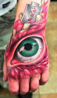 Amazing 3D Tattoo Deisgns