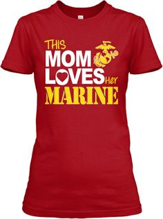 This Mom Loves Her Marine