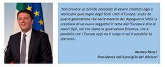 E' arrivato per Matteo Renzi il momento di confrontarsi con una sfida importante per la sua figura, per testare la sia strategia a lungo termine, e per l'Italia intera: il semestre di Presidenza Italiana del Consiglio dell'Unione Europea. Scopriamone insieme il processo di comunicazione politica e di media training. (Continua su...http://mistermedia.it/comunicazione-politica-il-semestre-europeo-e-il-banco-di-prova-internazionale-per-renzi/) #semestreue #comunicazionepolitica