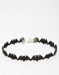 Image 1 of Suzywan DELUXE Halloween Bat Choker Necklace