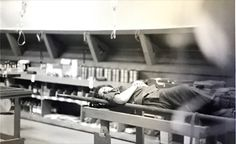 Vietnam Nurse Nancy Bergman taking a needed rest at the 24th Evac Hospital.