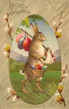 Vintage Easter Postcards and Illustrations
