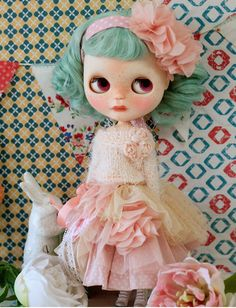 Sugarbabylove Pink Queen set for Blythe by SugarbabyloveDoll