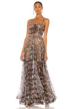 Bronx and Banco ROBE DE SOIRÉE en Gold & Black   REVOLVE Sequin Dress, Lace Dress, Dress Up, Strapless Dress Formal, Prom Dresses, Formal Dresses, Chic Outfits, Dress Outfits, Mode Shop