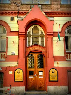 Budapest Door