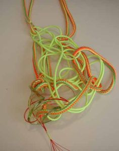 Cord necklace Fabric Squares, Plant Hanger, Macrame, Cord, Cable, Cords, Twine, Drawstring Waist, Wire