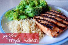 How To Cook Salmon: Teriyaki Grilled Salmon Grilled Teriyaki Salmon, Salmon Marinade, Pan Seared Salmon, Baked Salmon, Salmon On The Stove, Cooking Salmon Fillet, Salmon And Asparagus, Salmon Cakes