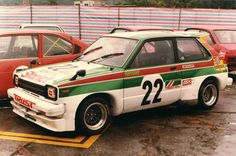 toyota starlet kp61 (pics from 1982)