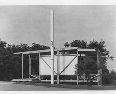 MAX BILL   ULM PAVILION, BUILT + DEMOLISHED 1956
