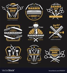New haircut men vintage barber shop ideas Mobile Barber, Barber Shop Haircuts, Barber Logo, Barber Shop Decor, Beauty Blender How To Use, Barbershop Design, Salon Signs, Best Barber, Haircuts For Men