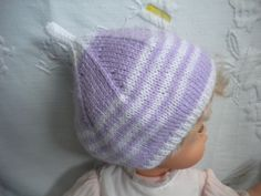 Ensemble Bonnet Bébé + Une paire de Chaussons bébé   Mode Bébé par l-atelier 87d0c6f8b86