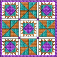 King Richard quilt pattern and tutorial from Ludlow Quilt and Sew