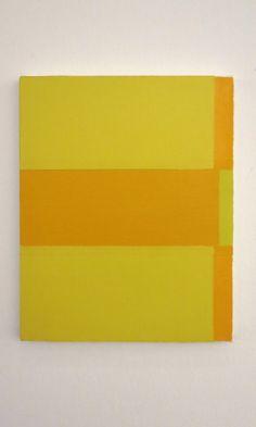 Yui Yaegashi Contemporary Art Daily, Art Installation, Yui, Stripes, Paintings, Yellow, Blog, Ideas, Art