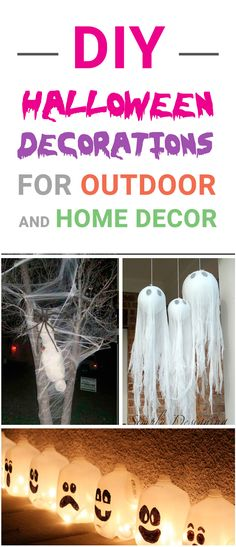 Best DIY Outdoor Halloween Decorations for Check these Halloween projects for inspiration and make our yard and home decor amazing for a Halloween party! Halloween School Treats, Halloween Party Supplies, Halloween House, Cute Halloween, Halloween Crafts, Halloween Stuff, Halloween Ideas, Victorian Halloween, Halloween Dance