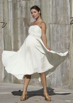 Short Maternity Wedding Dresses#wedding #dress