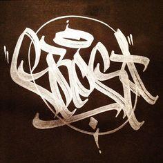 badass Grog ( Cutter action by Soem ( Graffiti Writing, Graffiti Tagging, Graffiti Lettering, Street Art Graffiti, Graffiti Wildstyle, Stencil Street Art, Tag Alphabet, Beautiful Lettering, Dope Art