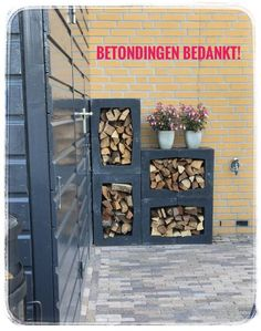 Garten U-elements - Betondingen. Jacuzzi Outdoor Hot Tubs, Hot Tub Backyard, Indoor Garden, Outdoor Gardens, Outdoor Firewood Rack, Build A Fireplace, Spa Design, Contemporary Landscape, Autumn Trees